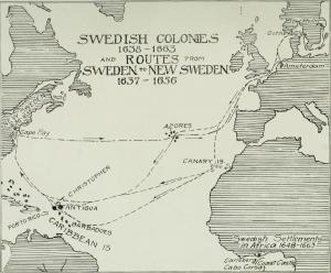 Route to New Sweden