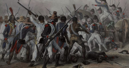 Haitian soldiers in the American Revolution