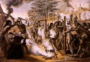 Death of Gabriel Lalemant and Jean de Brebeuf