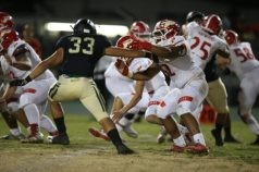 High School State Regional Bowl Game Paraclete Spirits vs Narbonne Gauchos December 9, 2017 at Narbonne High School. (Photo by Jevone Moore/Full Image 360)