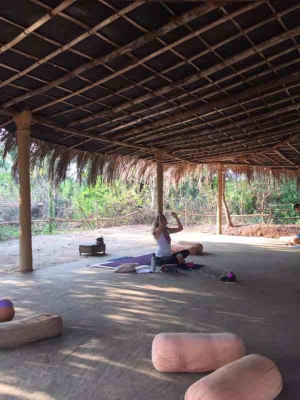 Yoga in north goa