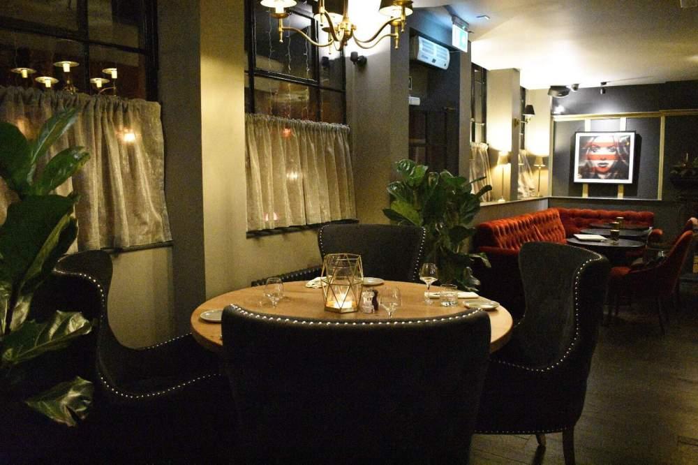 Drunch restaurant Regents Park