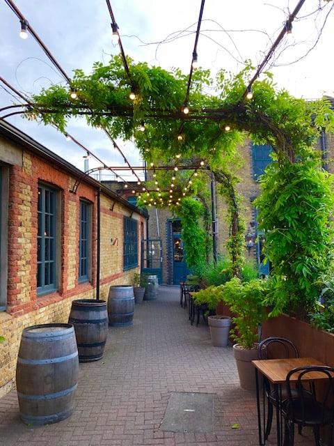 Distillery in East London