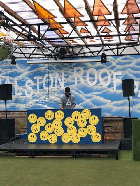 rooftop bar in dalston