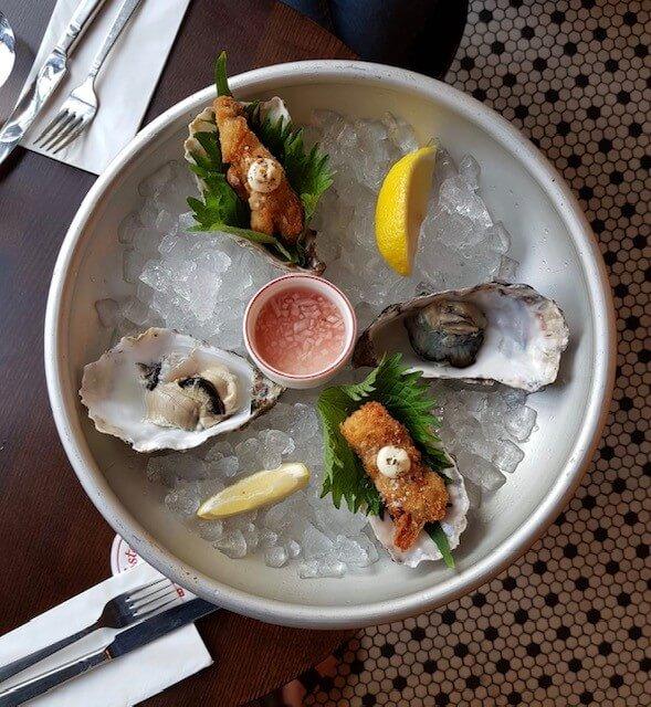 seafood restaurant in london bridg