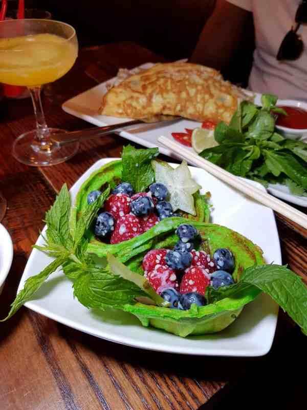 Vietnamese brunch in london