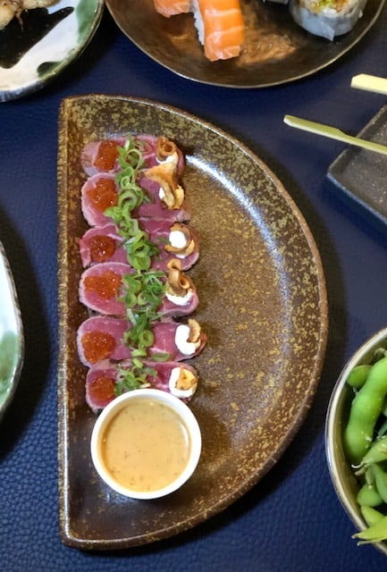 japanese sushi restaurant in london