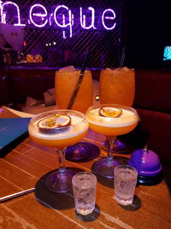 cocktail bar in farringdon