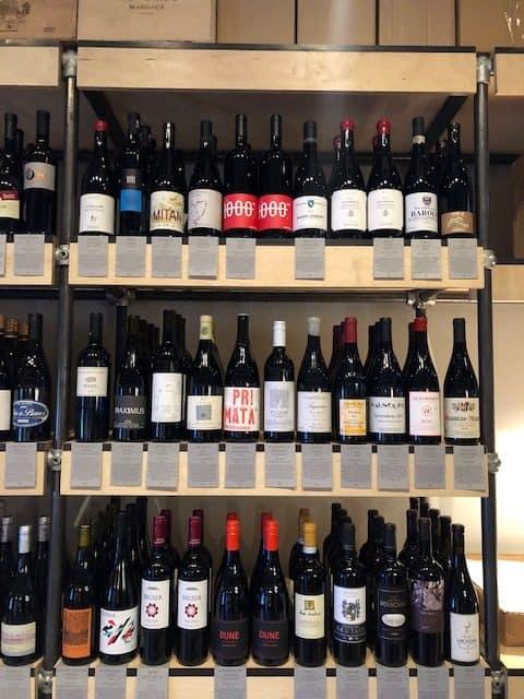 wine bar in bermondsey