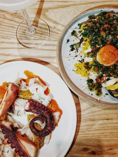 restaurant in spitalfields