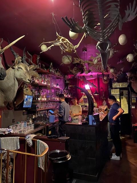 cocktail bar in hackney