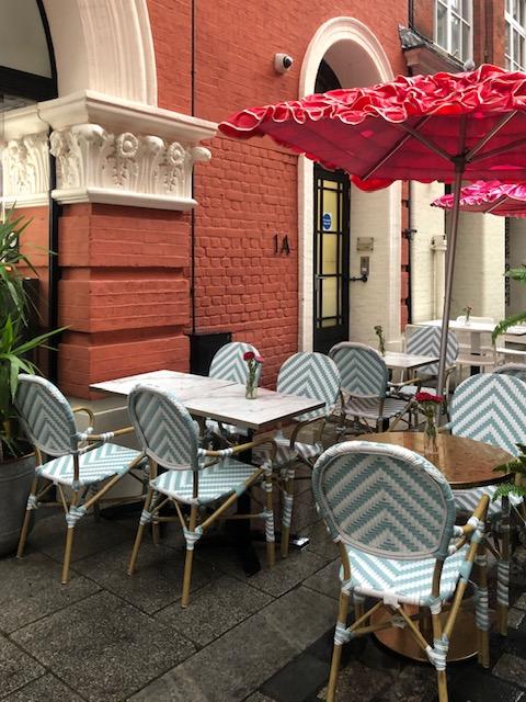 restaurant on regent street