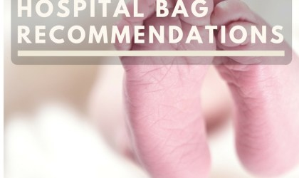 "Hospital Bag ""Must Haves"""