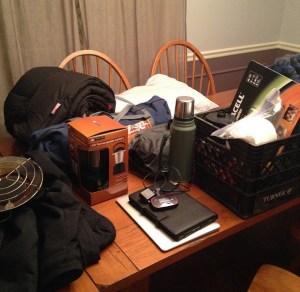 Gathering provisions