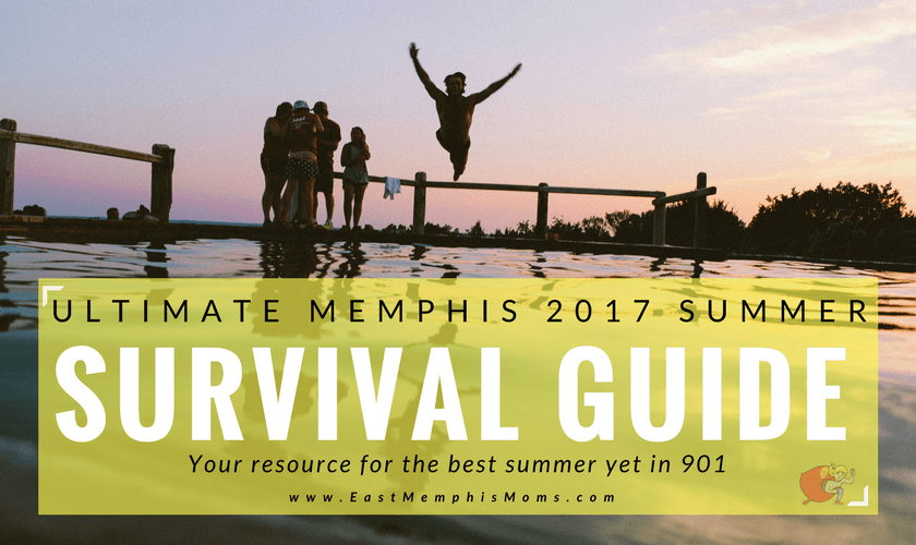 Summer Survival Guide on EastMemphisMoms.com