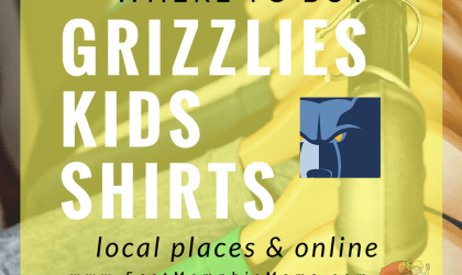 Where to Buy Kids Grizzlies Shirts