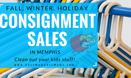 Fall, Winter, Holiday Memphis Kids Consignment Sales