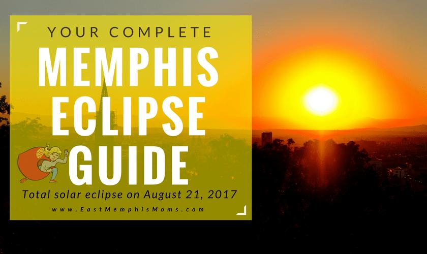 Memphis Solar Eclipse 2017 - EastMemphisMoms.com