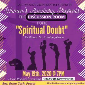 Women's AuxilIary spiritual doubt