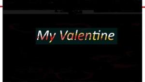 Tiga Maine – My Valentine