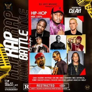 "DJ Ayi – ""Hip Hop Rap Battle"" Mix"