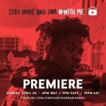 Kwesi Arthur – Stay Home With Me (Live Session)