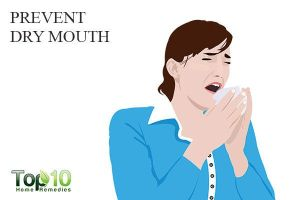 Prevent mouth dry