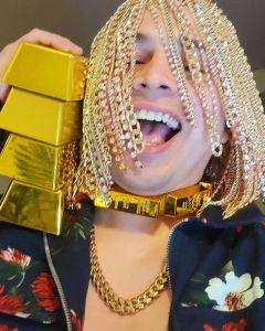 Rapper Dan Sur rejoices as he implants Golds on his head, labels it as his hair
