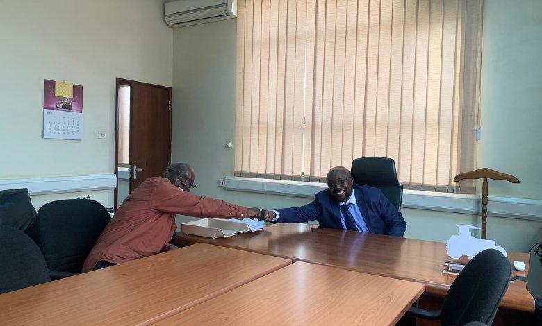 Photo of Kabushenga Hands Over To Don Wanyama At New Vision