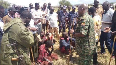Photo of Security Arrests 16 Cattle Rustlers in Moroto, to Be Court Martialed