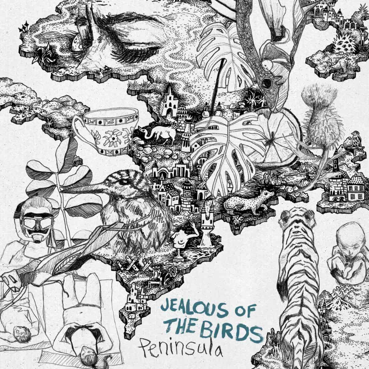 Jealous of the Birds Peninsula Album Art