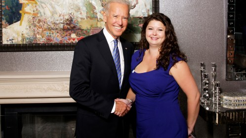 East of Ellie, an events co. Vice President Joe Biden @ Greenwich, CT