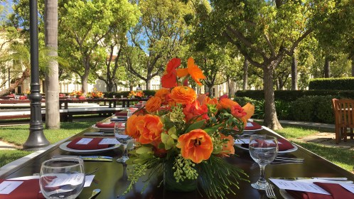 East of Ellie, an events co. Dolce & Gabbana Lunch @ Marathon Park, Paramount Studios