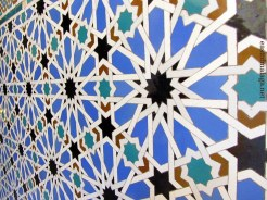 Tiles in the Royal Alcazar, Seville