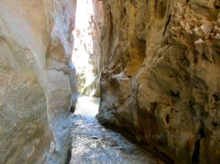Narrow gorge, Rio Chillar, Nerja