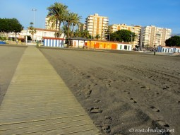 View from near the end of the longest concrete path, Torre del Mar