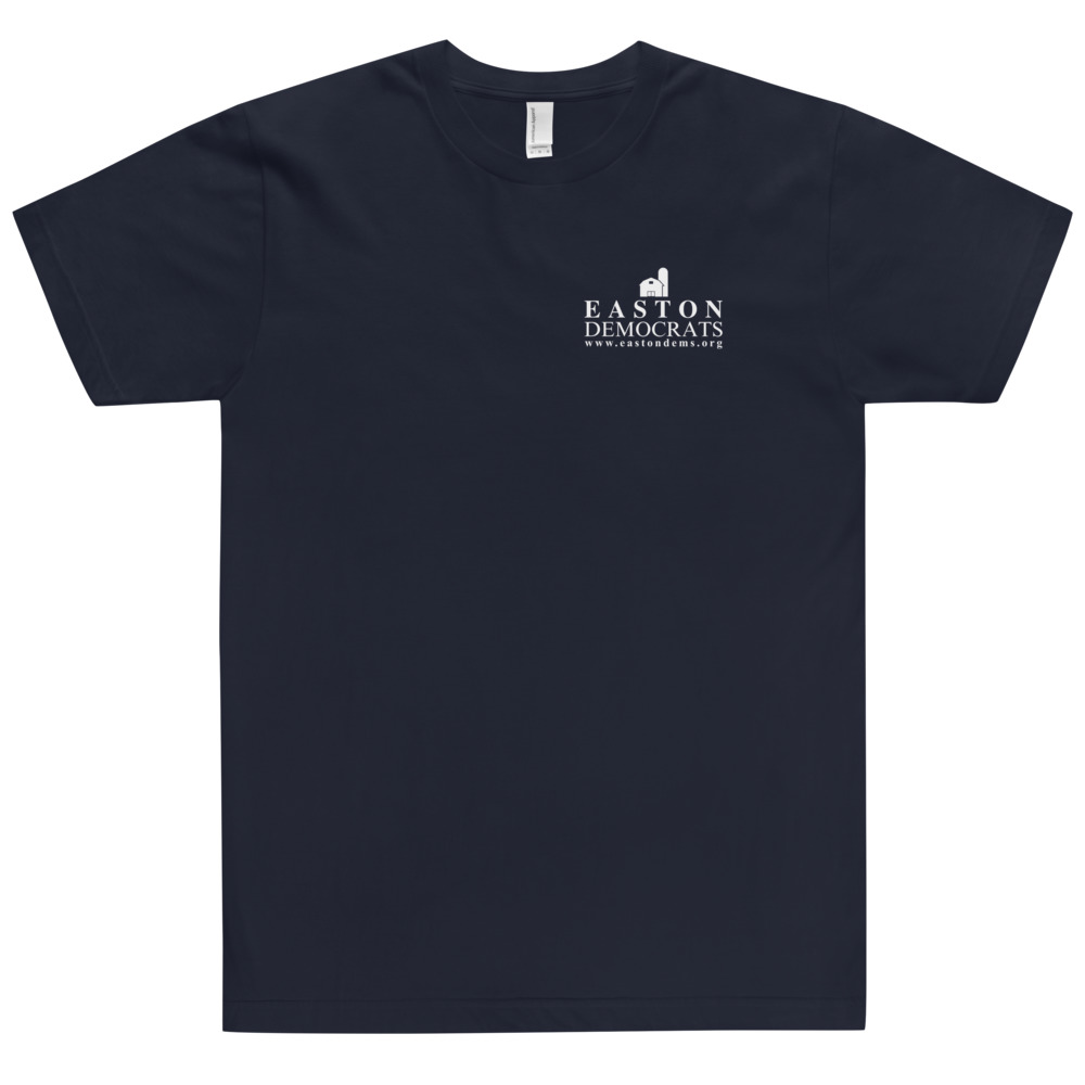 American Apparel Adult Navy T-Shirt