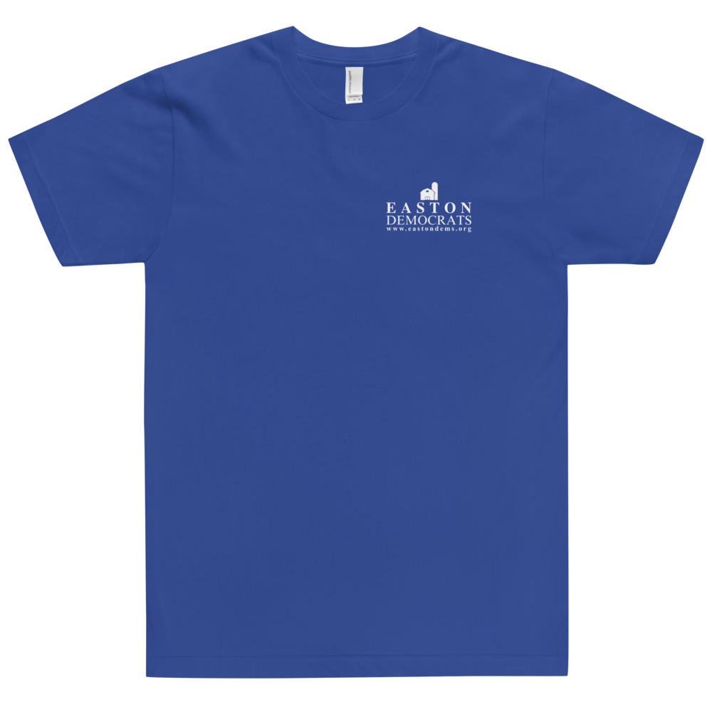 American Apparel Adult Blue T-Shirt