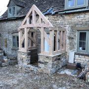 Oak Porch Kit (cotswolds)