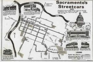 Sacramento's historic street cars
