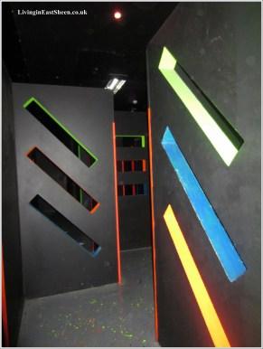 The Laser 7 maze