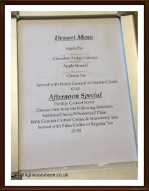 Come in for afternoon tea