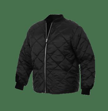 Diamond Nylon Quilted Flight Jacket