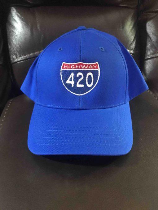 Interstate 420 Cap (blue)