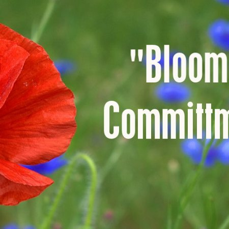 """Blooming Committment"""