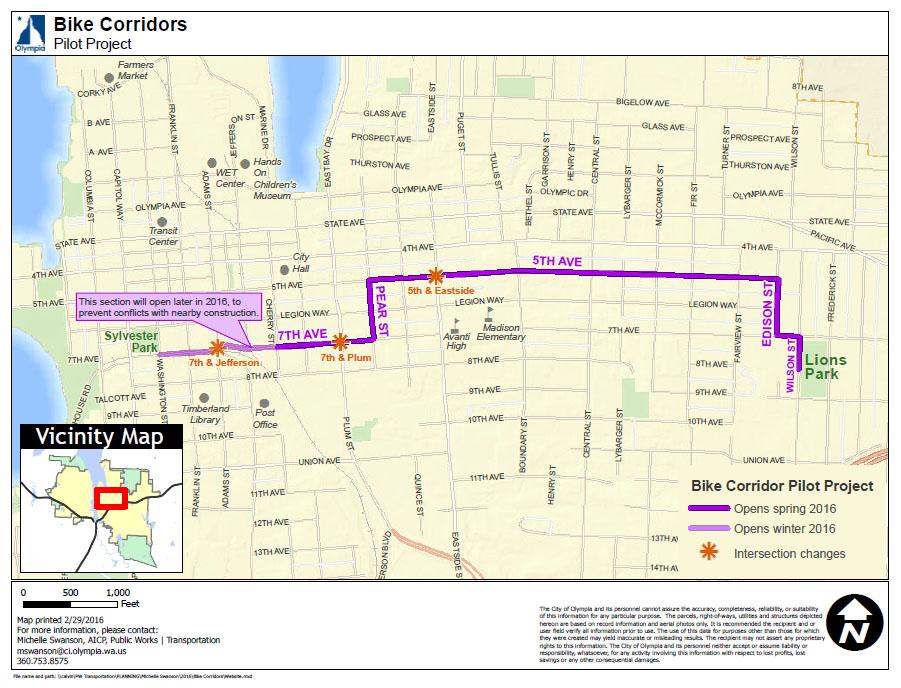 Bike Corridor Project