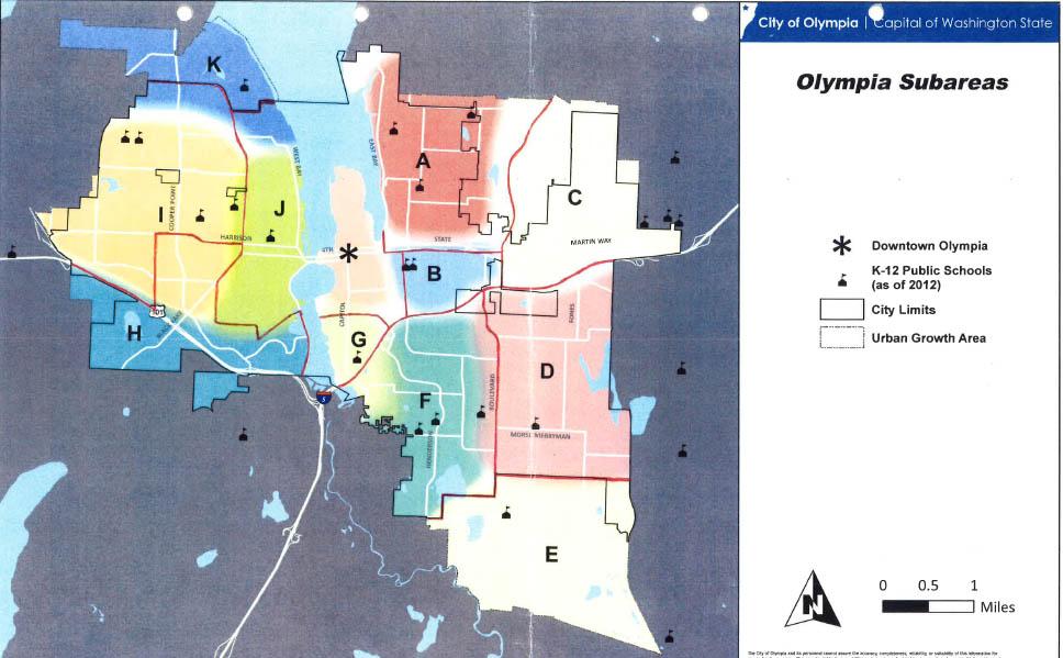 Olympia Subareas