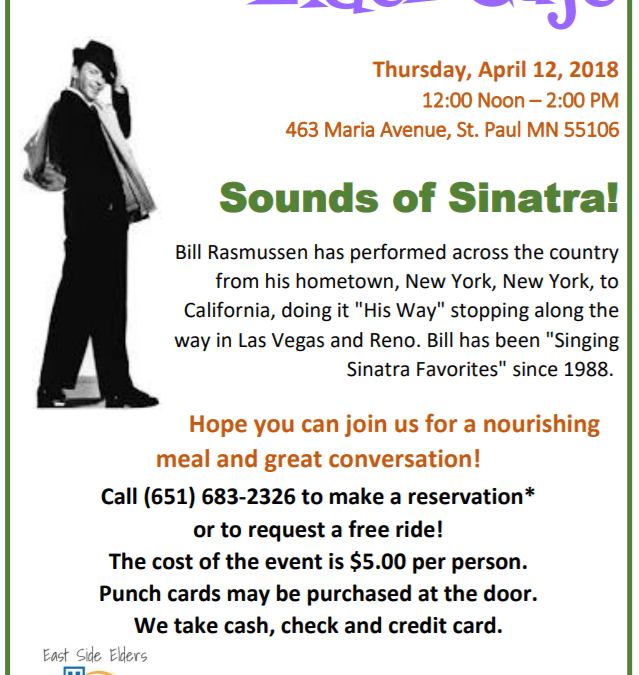 April Elder Cafe – Sounds of Sinatra