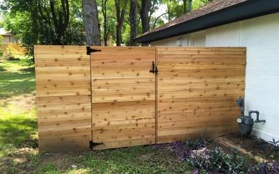 Austin Horizontal Wood Privacy Fence - East Side Fence