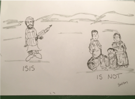 "ISIS is Not"" Art Exhibit Opening Reception and Art-Making Workshop"